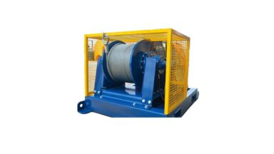 electric hydraulic winches