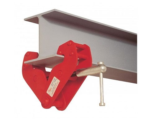 Broad flange beam : Girder clamps hire rental rigging beam clamp
