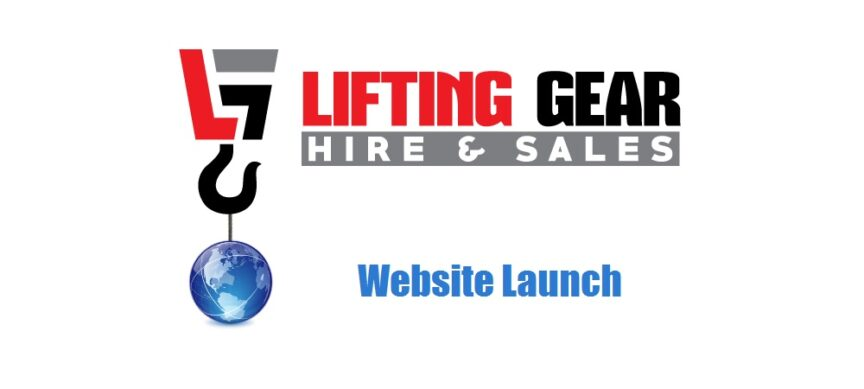 website-launch-lifting-gear-hire-sales