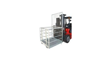 forklift safety cages