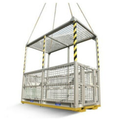 six person work cage