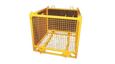 brick pallet lifting cage